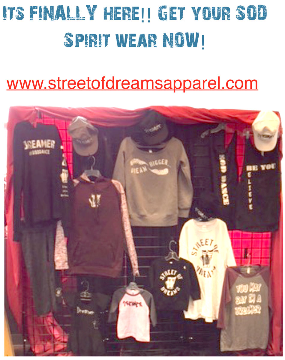 SOD Spirit Wear